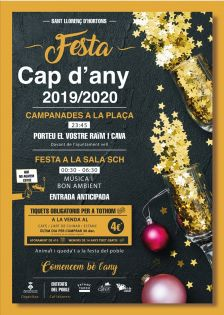 cartell cap d'any